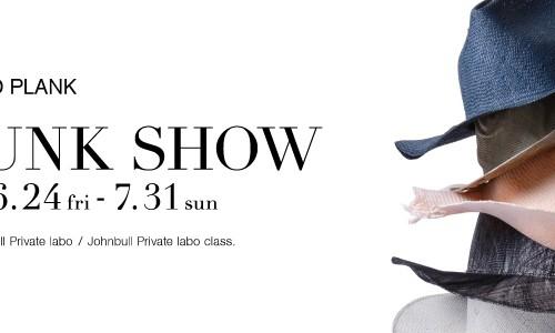 【REINHARD PLANK】 TRUNK SHOW<br/>イタリア発帽子ブランド「レナードプランク」のトランクショー開催!