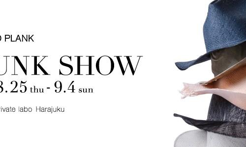 【REINHARD PLANK】 TRUNK SHOW<br/>イタリア発帽子ブランド「レナードプランク」のトランクショー<br/>原宿店で追加開催決定!