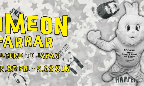 SIMEON FARRAR WELCOME TO JAPAN<br/>Johnbull Private labo各店舗にてスペシャルイベント開催!