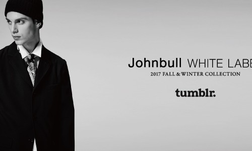 Johnbull WHITE LABEL<br>2017 FALL&#038;WINTER LOOKBOOK on tumblr.