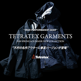 TETRATEX GARMENTS<br>2018 SPRING&#038;SUMMER NEW COLLECTION