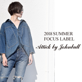 FOCUS LABEL 【Attick by Johnbull】