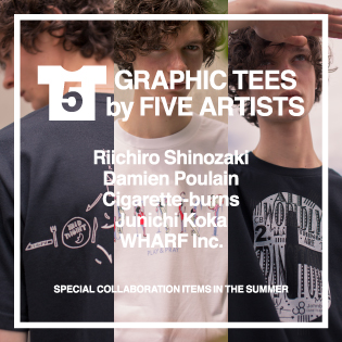 GRAPHIC TEES by FIVE ARTISTS