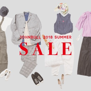 SALE – Johnbull 2018 SUMMER –