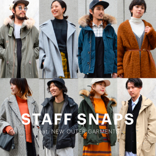 STAFF SNAPS  feat. NEW OUTER GARMENTS