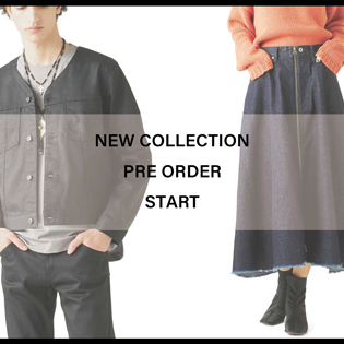 NEW COLLECTION PRE ORDER START