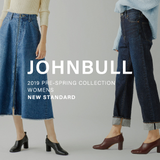 JOHNBULL 2019 PRE-SPRING COLLECTION