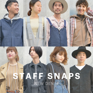 STAFF SNAPS feat. NEW DENIM