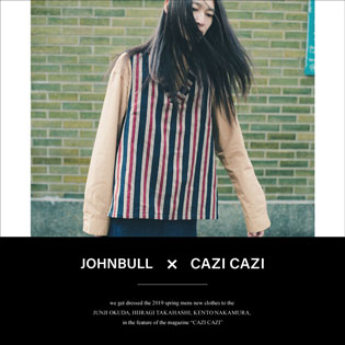 JOHNBULL × CAZICAZI