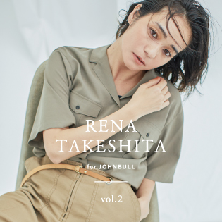 RENA TAKESHITA for JOHNBULL