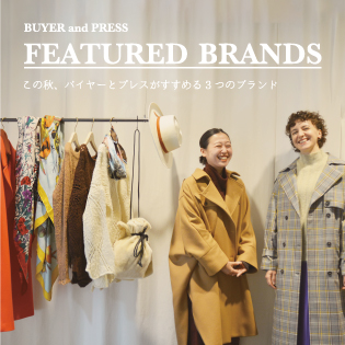 BUYER and PRESS FEATURED BRANDS