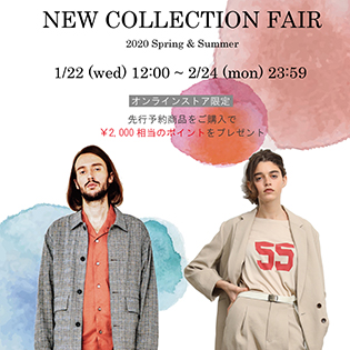 NEW COLLECTION FAIR -2020 SPRING & SUMMER-