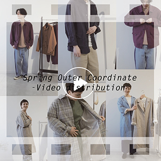 Spring Outer Coordinate -Video distribution-