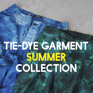 TIEDYE GARMENT SUMMER COLLECTION