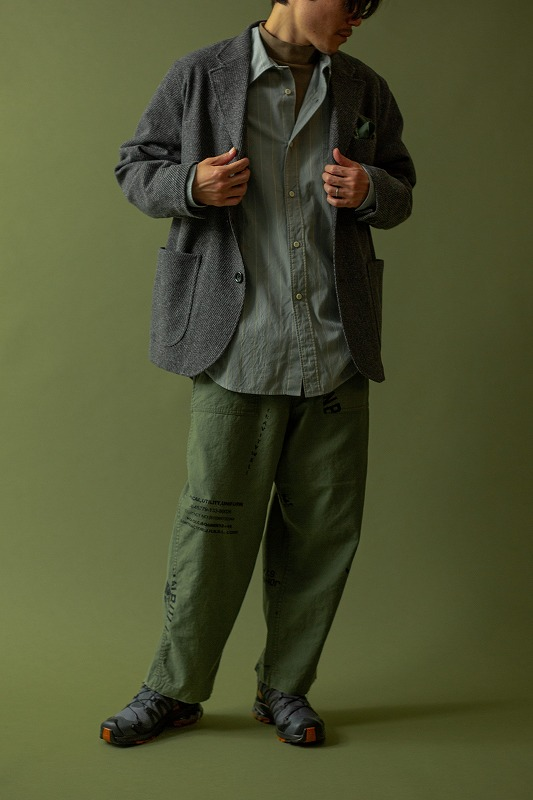 【MEN'S 2020 AW】JOHNBULL LOOK BOOK アイテム
