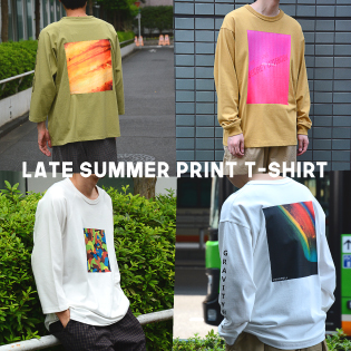 LATE SUMMER PRINT T-SHIRT