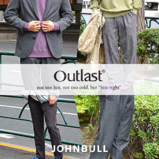 "2020 AUTUMN WINTER COLLECTION""Outlast®"""