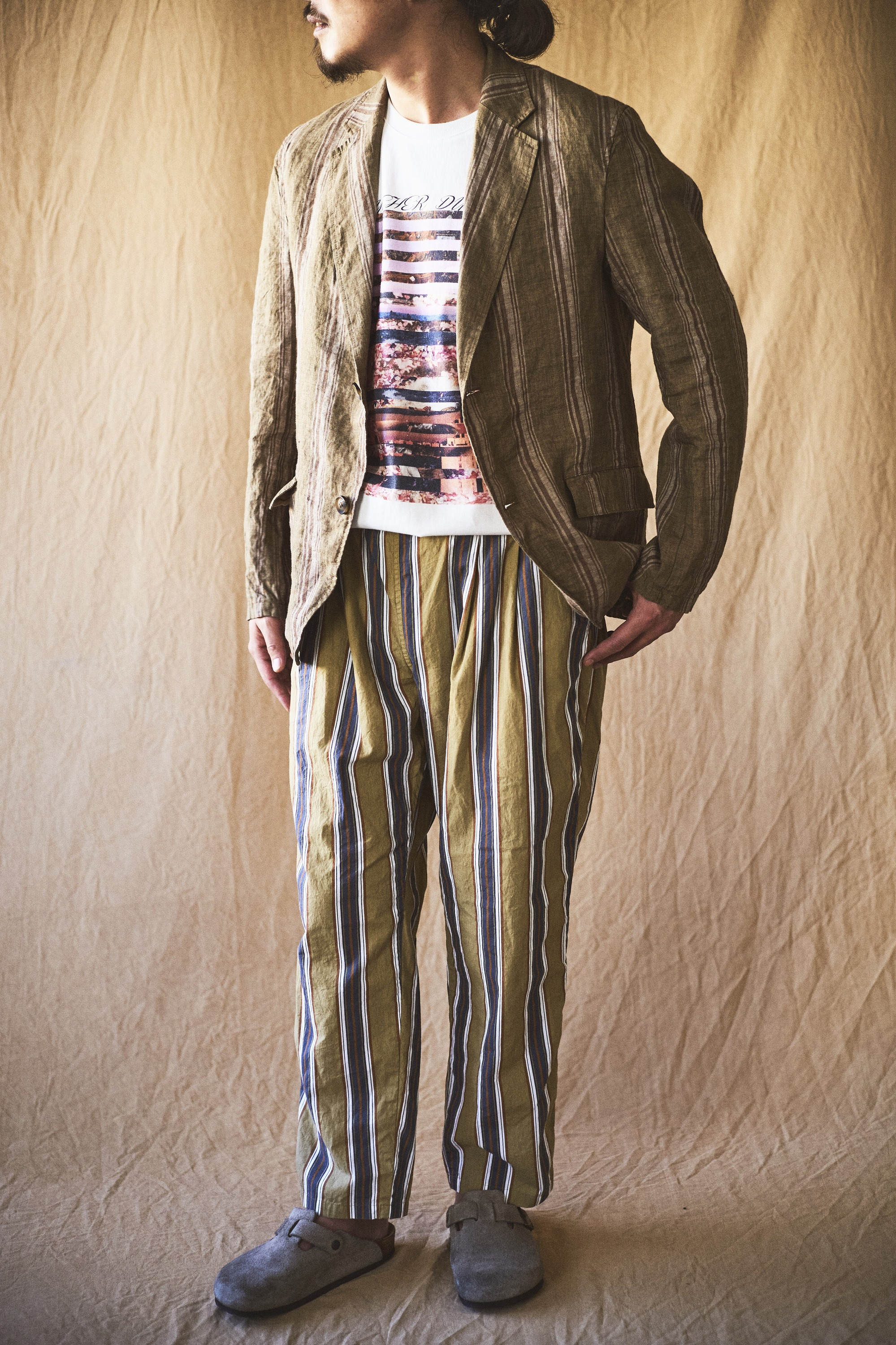 【MEN'S  2021 SUMMER】JOHNBULL LOOK アイテム