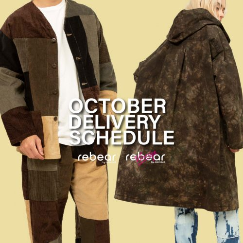 rebear by Johnbull DELIVERY SCHEDULE
